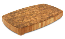 Totally Bamboo Chop Collection Bamboo Chopping Block