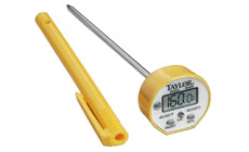 Taylor Commercial Waterproof Instant Read Digital Thermometer