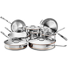 All-Clad Copper Core Ultimate Cookware Set
