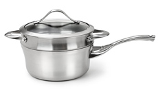 Calphalon Contemporary Stainless Saucepan with Double Boiler Insert