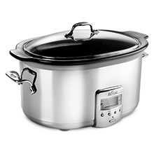 All-Clad Stainless Steel Electric Slow Cooker