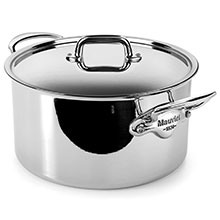 Mauviel M'cook Stainless Steel Stock Pot