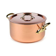 Mauviel M'heritage 250B 2.5mm Copper Stock Pots