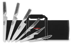 Global Deluxe Knife Roll Set