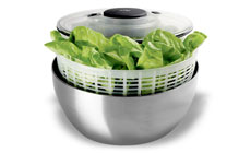Oxo SteeL Stainless Steel Salad Spinner
