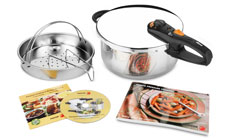 Fagor Duo Stainless Steel Pressure Cookers
