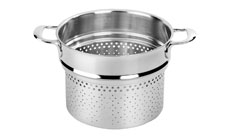 Demeyere Atlantis Stainless Steel Medium Pasta Cooker Insert
