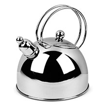 Demeyere Resto Stainless Steel Whistling Tea Kettle