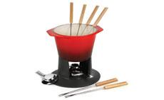 Le Creuset Cast Iron 1¾-quart Traditional Fondue Set