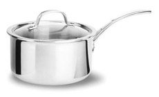 Calphalon Tri-Ply Stainless Saucepans