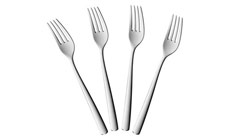 WMF Bistro Stainless Steel Dinner Forks Set