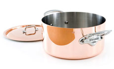 Mauviel M'heritage 150S Copper Stock Pot
