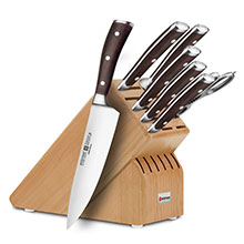 Wusthof Ikon Blackwood 8-piece Deluxe Knife Block Sets