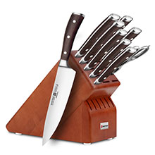 Wusthof Ikon Blackwood 10-piece Elite Knife Block Sets