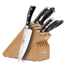 Wusthof Classic Ikon 6-piece Starter Knife Block Sets
