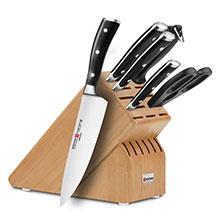 Wusthof Classic Ikon 7-piece Deluxe Knife Block Sets