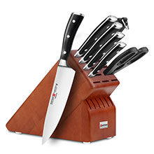 Wusthof Classic Ikon 8-piece Deluxe Knife Block Sets