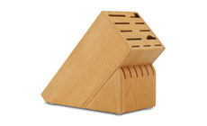 Cutlery and More 17-slot Beechwood Knife Block