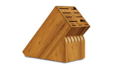 Cutlery and More 17-slot Bamboo Knife Block