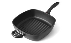 Swiss Diamond Nonstick Induction Square Deep Grill Pan