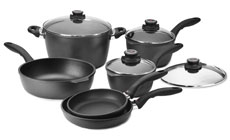 Swiss Diamond Large Capacity Nonstick Cookware Set