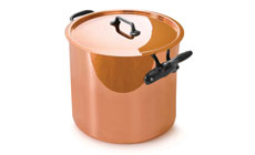 Mauviel M'heritage 150C Tin Lined Tall Copper Stockpot