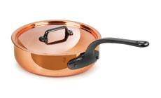 Mauviel M'heritage 150C Copper Saute Pan