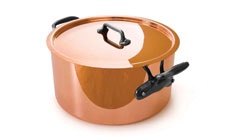 Mauviel M'heritage 150C Copper Stock Pot