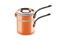 Mauviel M'heritage 150C Tin Lined Copper Bain Marie Double Boiler