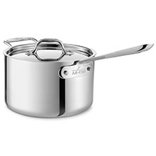 All-Clad Stainless Saucepan with Loop Handle