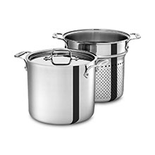 All-Clad Stainless Pasta Pentola Stock Pot with Insert