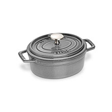 Staub 1-quart Oval Dutch Oven