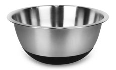 Amco Stainless Steel Non-Skid Mixing Bowl