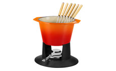 Le Creuset Cast Iron 1¾-quart Traditional Fondue Set