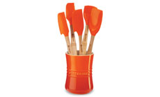 Le Creuset Revolution 6-piece Silicone Utensil Set