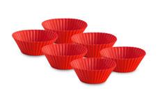 Le Creuset 6-piece Silicone Baking Cup Set