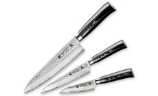 Tamahagane San Tsubame Micarta Hammered Starter Knife Set