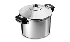 Kuhn Rikon Duromatic Stainless Steel Stock Pot Pressure Cooker