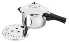 Kuhn Rikon Duromatic Stainless Steel Saucepan Pressure Cookers