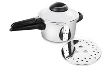 Kuhn Rikon Duromatic Stainless Steel Top Model Pressure Cookers