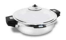 Kuhn Rikon Duromatic Family Style Braiser Pressure Cooker