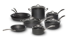 Calphalon Commercial Hard Anodized Cookware Set