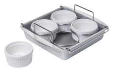 Chicago Metallic Creme Brulee Set