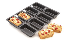 Chicago Metallic 8-cavity Nonstick Linked Mini Loaf Pan