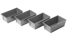 Chicago Metallic Commercial II Nonstick Mini Loaf Pan Set