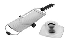 Rosle Stainless Steel Adjustable Hand-Held V-Slicer