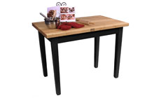 John Boos 48 x 24-inch Country Work Tables