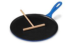 Le Creuset Cast Iron 10¾-inch Crepe Pans