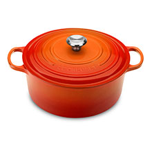 Le Creuset Signature Cast Iron 9-quart Round Dutch Ovens