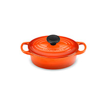 Le Creuset Signature Cast Iron 1-quart Oval Dutch Ovens